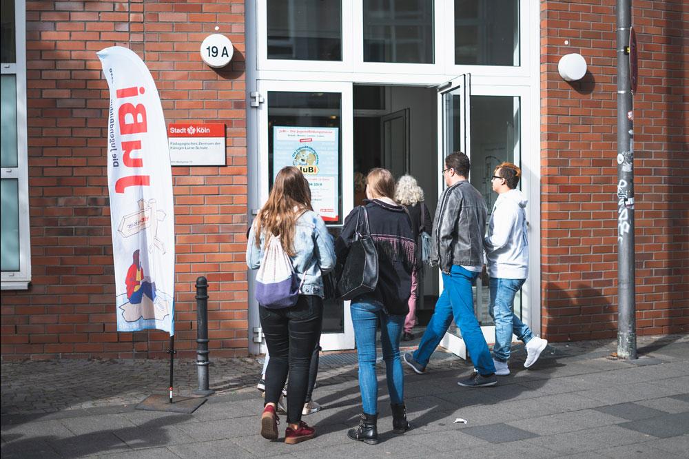 Eingang JugendBildungsmesse